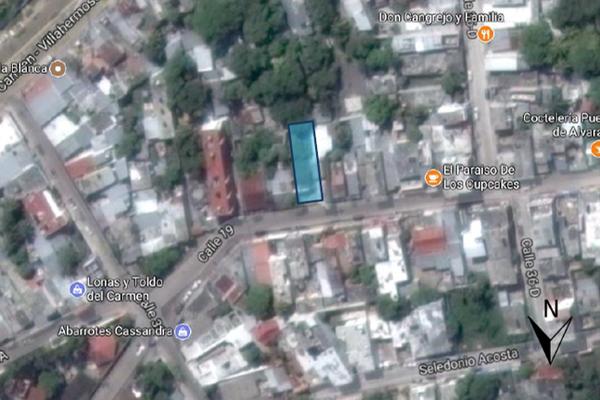 Foto de terreno habitacional en venta en calle 19 entre calle 36d y calle 38 , san miguel, carmen, campeche, 14036883 No. 02
