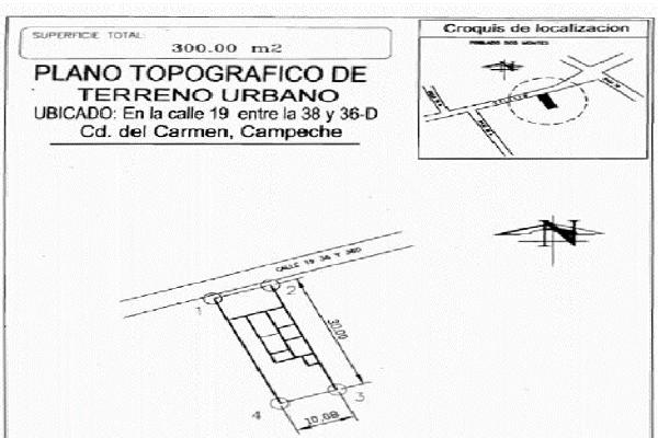Foto de terreno habitacional en renta en calle 19 entre calle 36d y calle 38 , san miguel, carmen, campeche, 14036887 No. 03