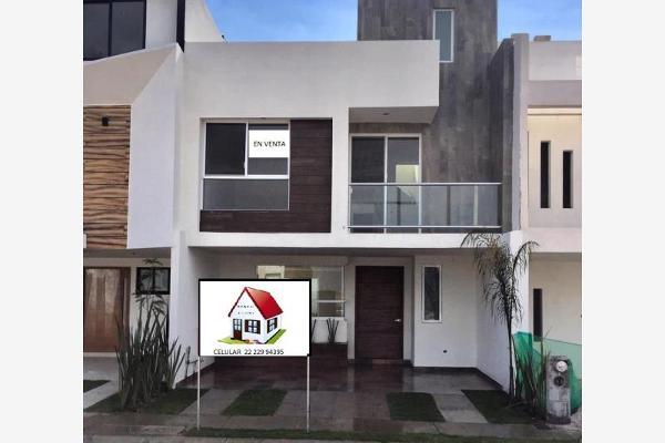 Foto de casa en venta en calle 2 43, antigua hacienda, puebla, puebla, 8635359 No. 01