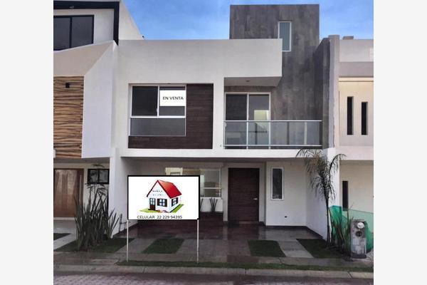 Foto de casa en venta en calle 2 43, fraccionamiento la cima, puebla, puebla, 8635359 No. 01