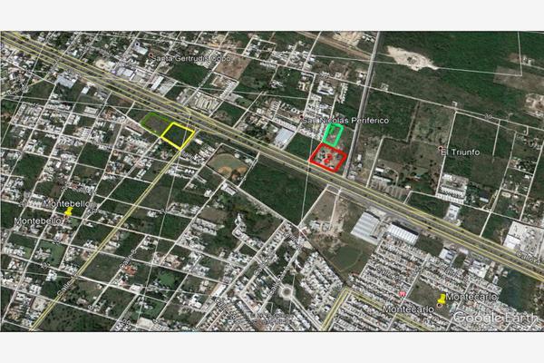 Foto de terreno habitacional en venta en calle 2 con periférico norte 144lote 1, temozon norte, mérida, yucatán, 8245260 No. 02