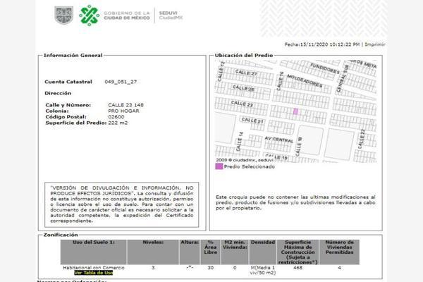 Foto de casa en venta en calle 23 148, pro-hogar, azcapotzalco, df / cdmx, 18865370 No. 09