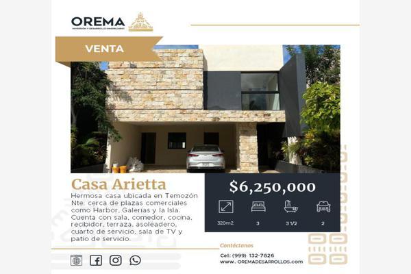 Foto de casa en venta en calle 24, prolongación andrés garcía lavín , del norte, mérida, yucatán, 20334349 No. 01