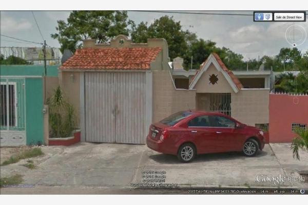 Foto de casa en venta en calle 25 312, benito juárez nte, mérida, yucatán, 5374498 No. 01