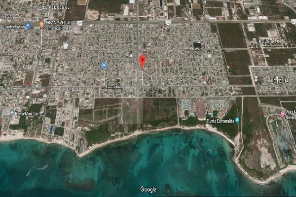 Foto de terreno habitacional en venta en calle 64 entre 15 y 20 , luis donaldo colosio, solidaridad, quintana roo, 7146374 No. 02