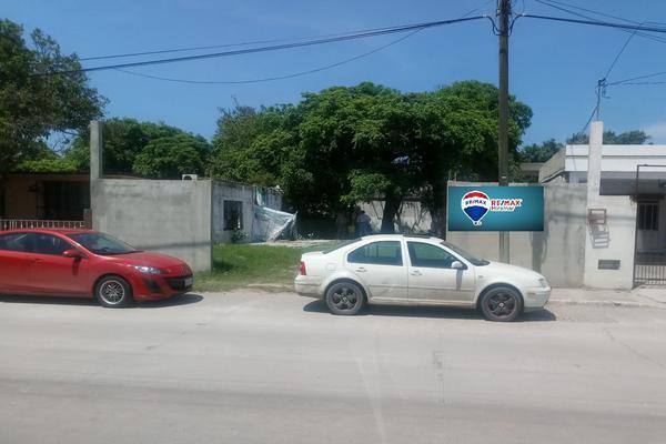 Foto de terreno habitacional en venta en calle altamirano , emilio carranza, ciudad madero, tamaulipas, 7469892 No. 01