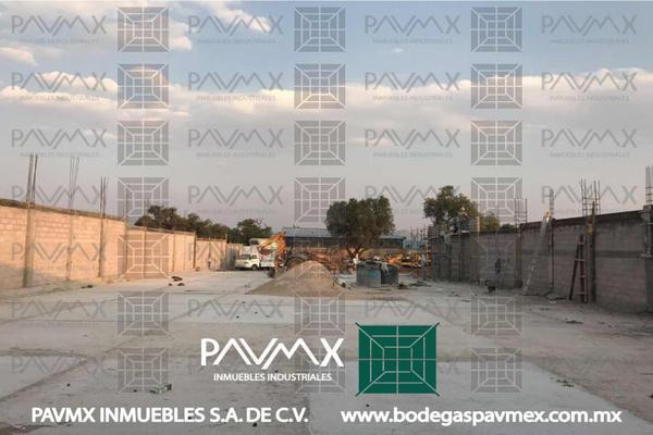 Foto de nave industrial en renta en calle camino viejo a las pir?mides 2, ampliación santa catarina, acolman, méxico, 8874738 No. 03