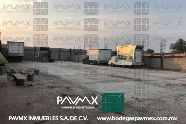 Foto de nave industrial en renta en calle camino viejo a las pir?mides 2, ampliación santa catarina, acolman, méxico, 8874738 No. 04