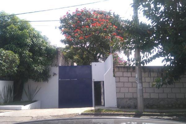 Foto de casa en renta en calle de la luz 116, chapultepec, cuernavaca, morelos, 5891550 No. 01