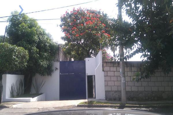 Foto de casa en renta en calle de la luz 158, las quintas, cuernavaca, morelos, 5891550 No. 01