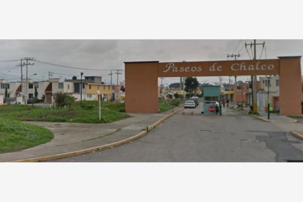 Foto de casa en venta en calle de la prudencia 0, paseos de chalco, chalco, méxico, 5319348 No. 01