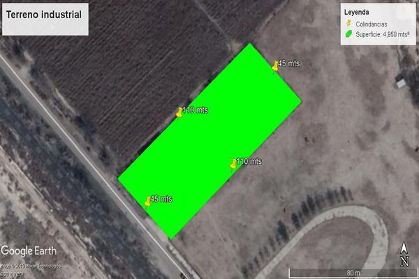 Foto de terreno industrial en venta en calle de los silos , agrícola industrial, camargo, chihuahua, 7514192 No. 01