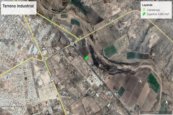 Foto de terreno industrial en venta en calle de los silos , agrícola industrial, camargo, chihuahua, 7514192 No. 02