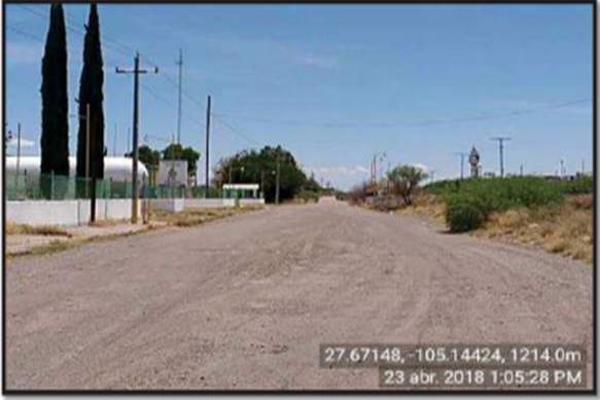 Foto de terreno industrial en venta en calle de los silos , agrícola industrial, camargo, chihuahua, 7514192 No. 06