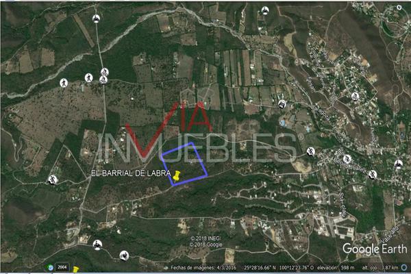 Foto de terreno industrial en venta en calle #, el barrial, 67303 el barrial, nuevo león , el barrial, santiago, nuevo león, 13339392 No. 04