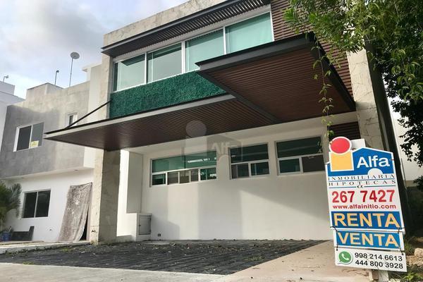 Foto de casa en renta en calle ficus , residencial cumbres, benito juárez, quintana roo, 5712139 No. 01