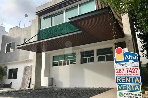 Foto de casa en renta en calle ficus , residencial san antonio, benito juárez, quintana roo, 5712139 No. 01