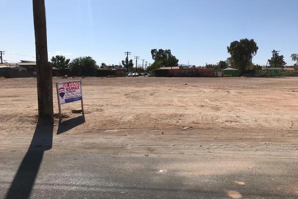 Foto de terreno habitacional en venta en calle h colegio militar , progreso, mexicali, baja california, 8901090 No. 01
