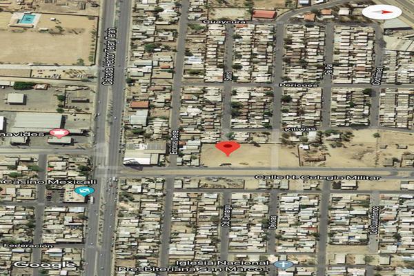 Foto de terreno habitacional en venta en calle h colegio militar , progreso, mexicali, baja california, 8901090 No. 03