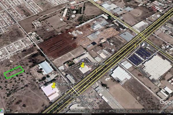Foto de terreno habitacional en venta en calle kappa , 20 de noviembre, durango, durango, 5889420 No. 01