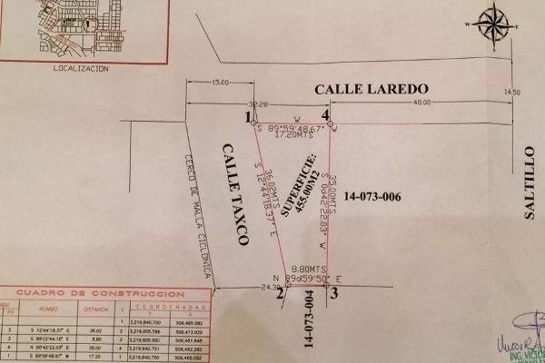 Foto de terreno habitacional en venta en calle laredo esquina con taxco s/n , cuartel pitic, hermosillo, sonora, 5637996 No. 02