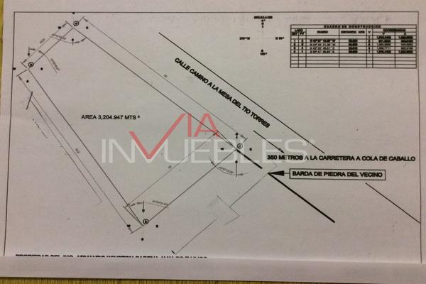 Foto de terreno industrial en venta en calle #, los rodriguez, 67300 los rodriguez, nuevo león , los rodriguez, santiago, nuevo león, 7095962 No. 01