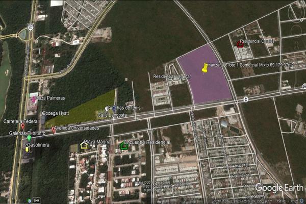 Foto de terreno habitacional en venta en calle mar de bali calle mar de bali , playa del carmen centro, solidaridad, quintana roo, 6140378 No. 09