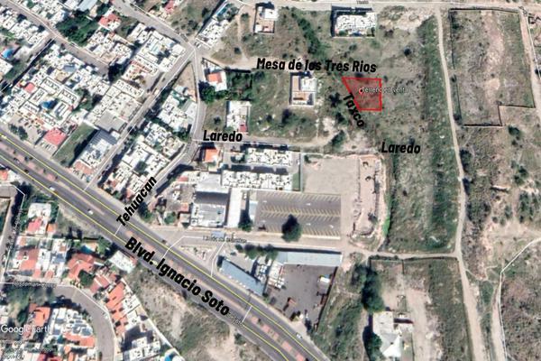 Foto de terreno habitacional en venta en calle mesa de los tres rios esquina con taxco s/n , lomas altas, hermosillo, sonora, 15219026 No. 01