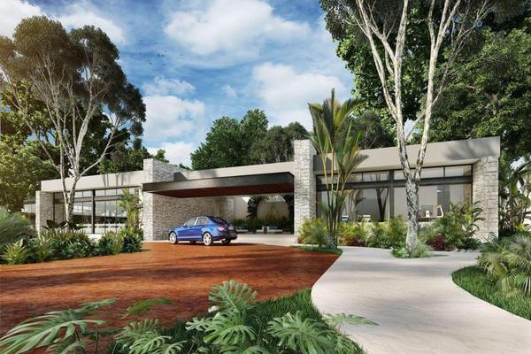 Foto de terreno habitacional en venta en calle pino , el tigrillo, solidaridad, quintana roo, 7154567 No. 01
