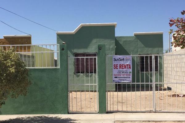 Foto de casa en renta en calle rojo 378 e/art. 115 y esmeralda, fraccionamiento arcoiris 378, ayuntamiento, la paz, baja california sur, 8873247 No. 01