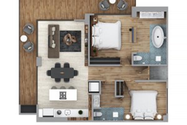 Foto de casa en condominio en venta en calle sagitario 150, conchas chinas, puerto vallarta, jalisco, 14809737 No. 04