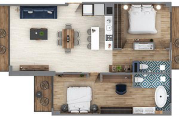 Foto de casa en condominio en venta en calle sagitario 150, conchas chinas, puerto vallarta, jalisco, 14870494 No. 03