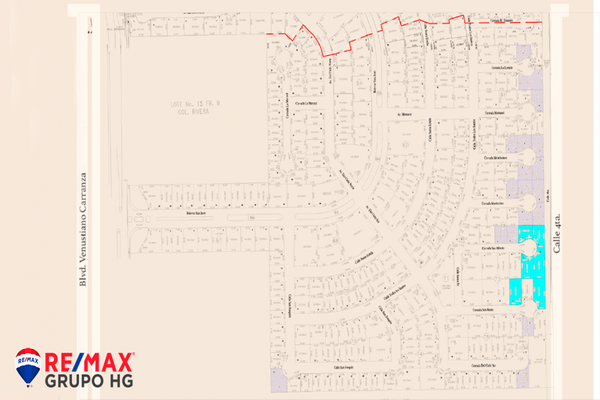 Foto de terreno habitacional en venta en calle san joaquin , san pedro residencial, mexicali, baja california, 18882062 No. 02