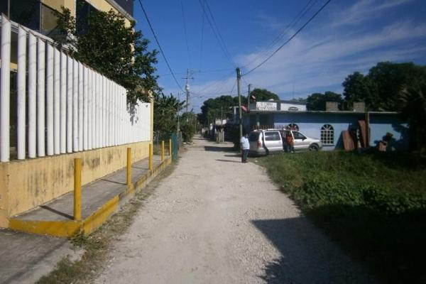 Foto de terreno habitacional en venta en callejon san pedro 100, boquerón (san pedro), centro, tabasco, 8853812 No. 01