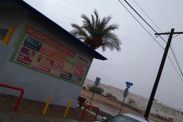 Foto de terreno comercial en venta en calzada constitucion y yucatan , industrial, san luis río colorado, sonora, 5944344 No. 01