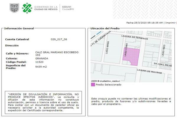 Foto de departamento en venta en calzada mariano escobedo 193, granada, miguel hidalgo, df / cdmx, 12796283 No. 05