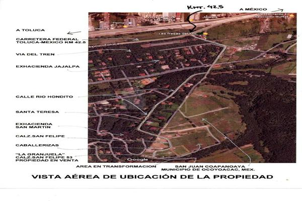 Foto de terreno habitacional en venta en calzada. san felipe (prolongación río hondito) , san miguel, ocoyoacac, méxico, 5769100 No. 19