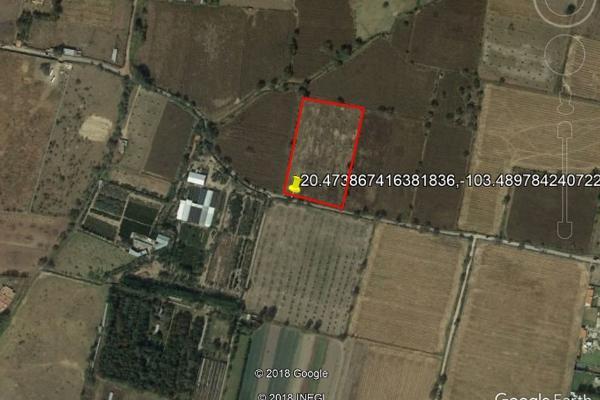 Foto de terreno habitacional en venta en camino a huertas productivas , santa cruz de las flores, tlajomulco de zúñiga, jalisco, 16342095 No. 01