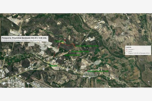 Foto de terreno industrial en venta en camino a industrias 510, santa maria la floreña, pesquería, nuevo león, 5821697 No. 12