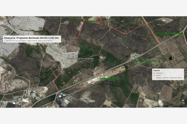 Foto de terreno industrial en venta en camino a industrias 510, santa maria la floreña, pesquería, nuevo león, 5821697 No. 14