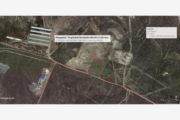 Foto de terreno industrial en venta en camino a industrias 510, santa maria la floreña, pesquería, nuevo león, 5821697 No. 15