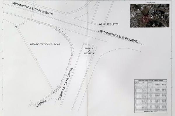 Foto de terreno comercial en venta en camino a la negreta , la negreta, corregidora, querétaro, 14023232 No. 01