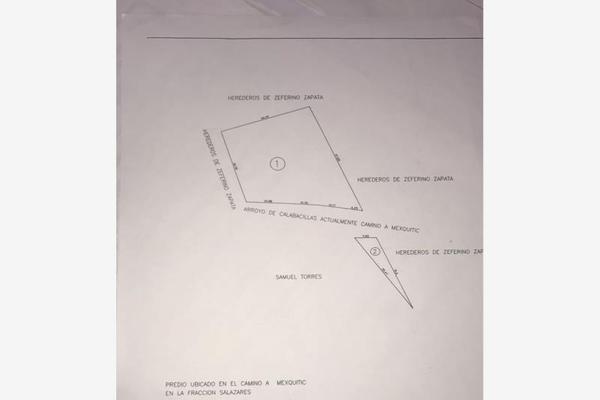 Foto de terreno habitacional en venta en camino a mezquitic , salazares, san luis potosí, san luis potosí, 10021567 No. 01