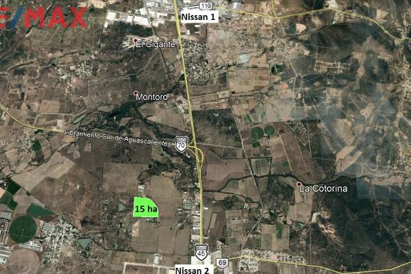 Foto de terreno industrial en venta en camino a montoro , montoro, aguascalientes, aguascalientes, 7157239 No. 02