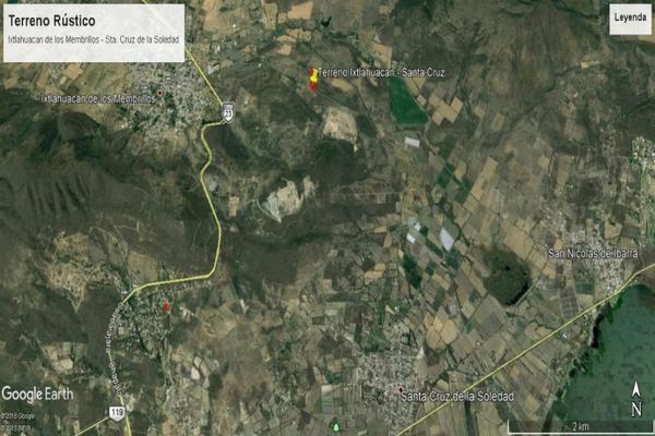 Foto de terreno habitacional en venta en camino a santa cruz de la soledad s/n , ixtlahuacan de los membrillos, ixtlahuacán de los membrillos, jalisco, 13243974 No. 01