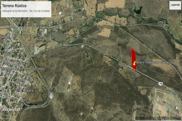 Foto de terreno habitacional en venta en camino a santa cruz de la soledad s/n , ixtlahuacan de los membrillos, ixtlahuacán de los membrillos, jalisco, 13243974 No. 05