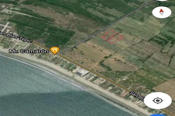 Foto de terreno industrial en venta en camino al cocodrilario , la palma, san blas, nayarit, 0 No. 01