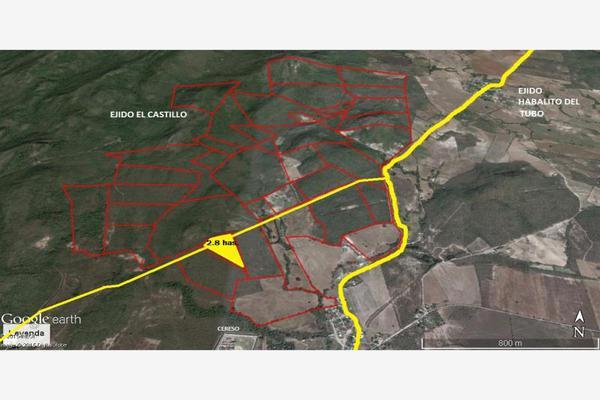 Foto de terreno industrial en venta en camino al habalito del tubo parcela 16, el castillo, mazatlán, sinaloa, 2708163 No. 01