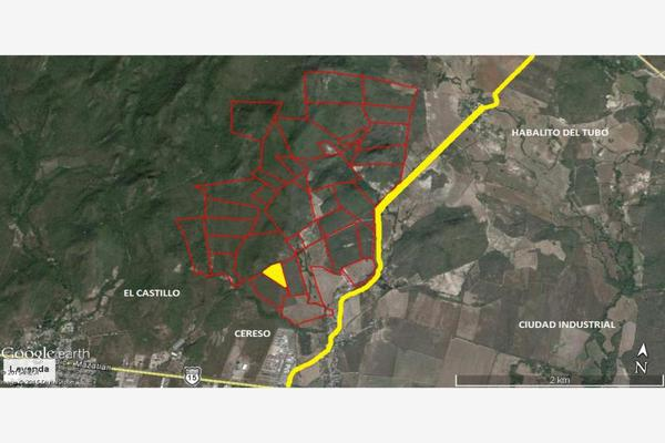Foto de terreno industrial en venta en camino al habalito del tubo parcela 16, el castillo, mazatlán, sinaloa, 2708163 No. 02