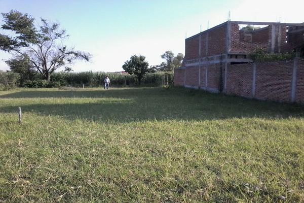 Foto de terreno habitacional en venta en camino al hospital , el sifón, cuautla, morelos, 5329229 No. 01